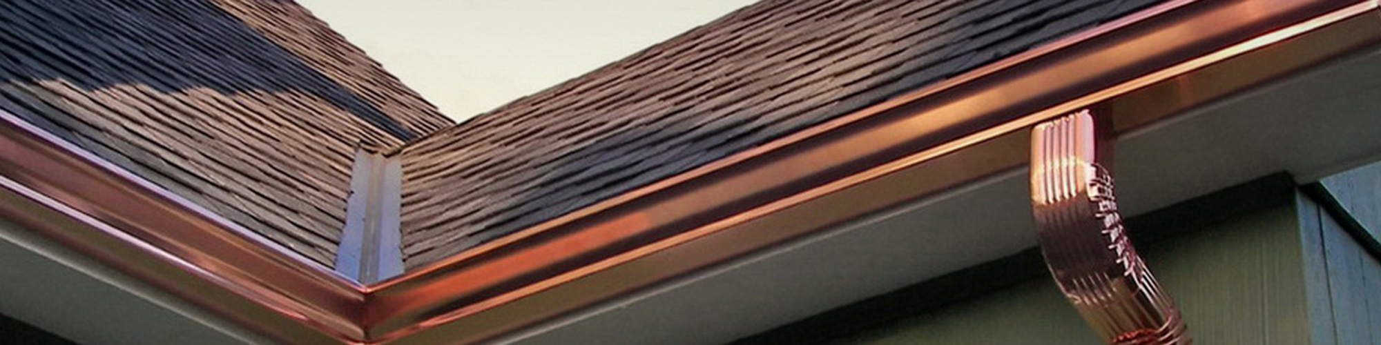 Seamless Copper Gutter